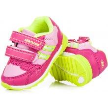 56e3f45acc7 Hasby 2205F Stylové a sportovní dětské tenisky na suchý zip růžové
