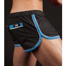 Barcode GYM Rubber shorts černomodré