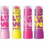 Dermacol Zvláčňující balzám na rty Dermacol Love Lips SPF 15 11 Sytá růžová, vůně Juicy 3,5 ml