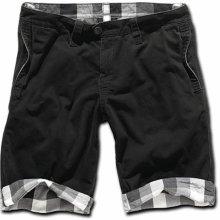 Brandit Kalhoty krátké Raider 2in1 shorts oboustranné | černé | S