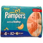 Pampers Active baby 4 maxi 7-14kg 82 ks