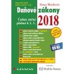 Daňové zákony 2018 - Úplná znění k 1. 1. 2018 - Marková Hana