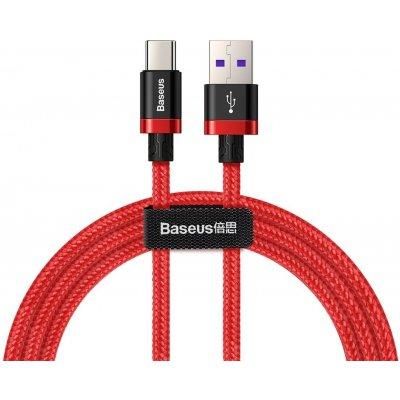 Baseus CATZH-A09 USB - USB-C, QC 3.0, 1m, červený