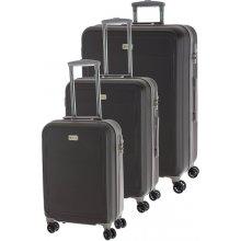 D&N kufry set 3ks S,M,L 9600-13 šedá