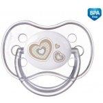 Canpol Babies Newborn Baby dudlík silikonový třešinka béžová