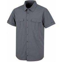 Husky Gomy Pánská košile šedá 48e7eedefa