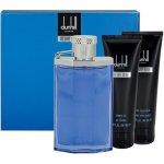 Dunhill Desire Blue V. EdT 100 ml + sprchový gel 90 ml + balzám po holení 90 ml + etue dárková sada