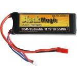 LiPol Black Magic 11.1V 950mAh 35C JST
