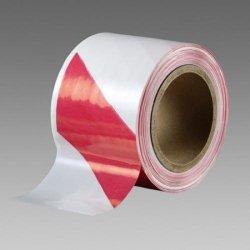 Vytyčovací páska - červeno-bílá , 70 mm x 500 m