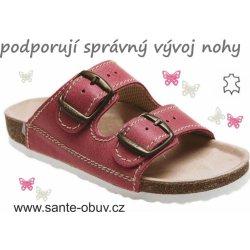 Dětská bota Santé D 202 C30 BP zdravotní pantofel červená 429f4ba81b