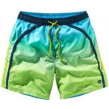 Koupací šortky, zelená/modrá