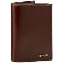 GINO ROSSI Velká pánská peněženka Piemonte AFV349-01S-PL00-3300-X Hnědá