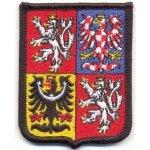 Vyšívaná rukávová nášivka - velký státní znak ČR Alerion