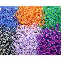 LOOM BANDS gumičky na výrobu náramků 300ks