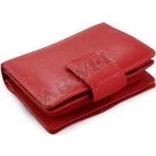 Arwel Dámská kožená peněženka 511 5937 se zápinkou červená