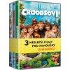 Kolekce Animované filmy (Croodsovi, Zataženo občas trakaře, Rio 2) - 3 DVD