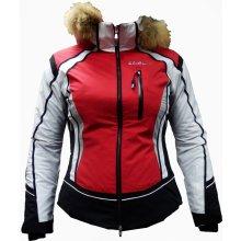 Dámská lyžařská bunda Goldwin g15015el červená
