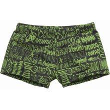 Bruno Banani boxerkové plavky černá-zelená d06ea54174