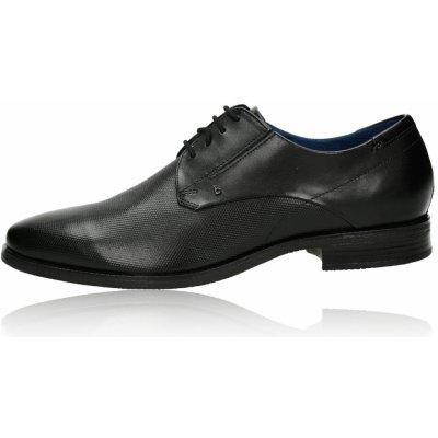 Bugatti pánské kožené společenské boty černé