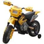 vidaXL 80055 Elektrická dětská motorka žlutá