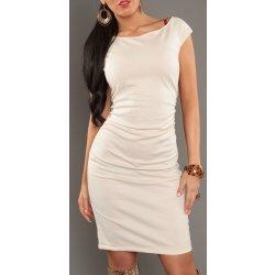 Dámské pouzdrové šaty se zipem bílá od 850 Kč - Heureka.cz 16d4ce6542