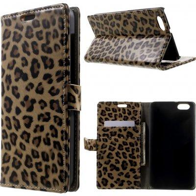 Pouzdro s leopardím vzorem pro Huawei Honor Play 4X