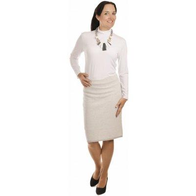 AL1158 dámská sukně do gumy světle šedá