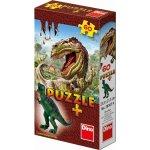 Dinosauři puzzle + figurka 60 dílků