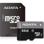 ADATA SDXC 64GB UHS-I AUSDX64GUICL10-RA1