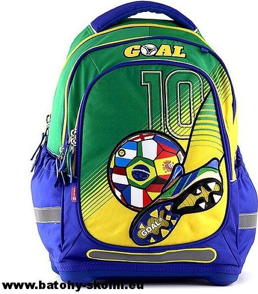 Target batoh Goal modro-zelený od 799 Kč - Heureka.cz 55be56e54d