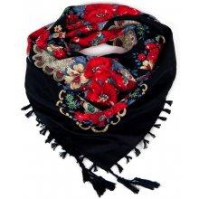 baefd6db7ce Art of Polo Folkový šátek s květy