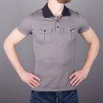 d2d0b84c9002 Armani Jeans Polo tričko AJ pruhované