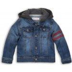 Minoti TIGER 5 Bunda chlapecká džínová s kapucí modrá a758b26cdd5