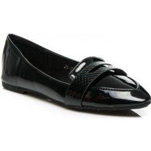Baleríny JN-72 Fashion boty černé