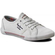 64d6b9ea0f Pepe Jeans Aberlady Basic 17 PLS30500 Bílá