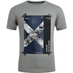 9e06903b585a Armani Exchange 6ZZTAL.ZJH4Z šedé 1935 GREY pánské tričko - Nejlepší ...