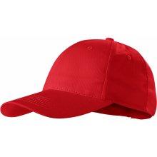 Sunshine čepice unisex s odtrhávací etiketou ADLER červená 77bb824bf2