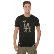 New Era Team Apparel Infill Logo MLB Los Angeles Dodgers Black