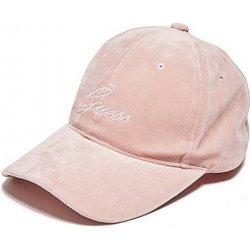 GUESS kšiltovka Velvet Logo Baseball Hat starorůžová alternativy ... 6e768716f9