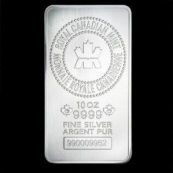 Royal Canadian Mint Stříbrný slitek 10 oz