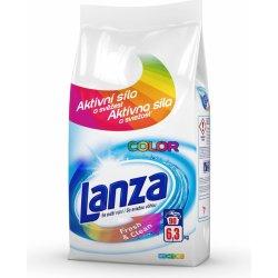 Lanza Color Fresh & Clean prací prášek se svěží vůní 6,3 kg