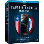 Captain America trilogie 1-3: Captain America: První Avenger + Captain America: Návrat prvního Avengera + Captain America: Občanská válka Kolekce BD