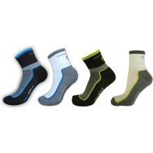 a5e3eb38a57 Nanosilver Cyklo ponožky se stříbrem + Coolmax - tmavé se zelenou