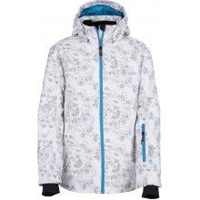 Kilpi dívčí lyžařská bunda Genovesa-Jg FJ0016KIWHT bílá