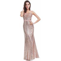 fcc639d046b7 Dlouhé glamour šaty na ples růžová zlatá alternativy - Heureka.cz