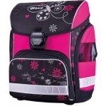 Stil batoh Romantic 2 černá/růžová/motýli