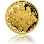 Česká mincovna Zlatá mince Doba Jiřího z Poděbrad - Manžel a otec proof 3,11 g