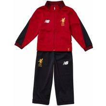 New Balance Liverpool Presentation Tracksuit Child Boys Red