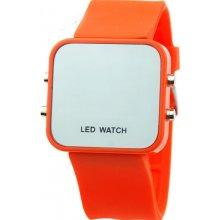 Zrcadlové LED Jelly MA oranžové