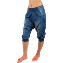 YooY dámské džínové kraťasy se sníženým sedem modrá alternativy ... f3ac73e4ea